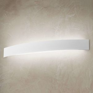 Linea Light Zahnuté LED nástěnné světlo Curve v bílé