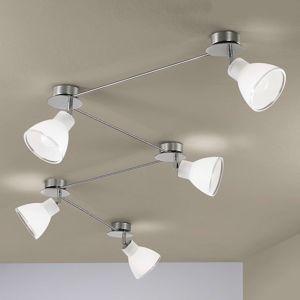 Linea Light 5zdrojové stropní světlo Campana