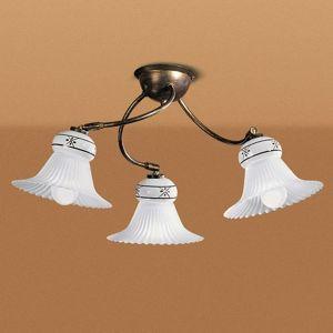 Linea Light MAMI stropní světlo ve venkovském stylu