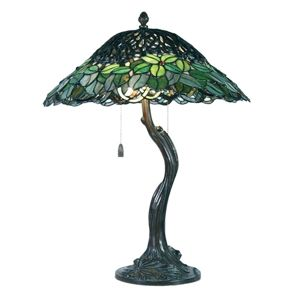 Clayre & Eef Stolní lampa Jamaica, Tiffany styl