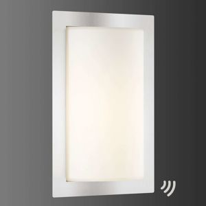 LCD Moderní venkovní svítidlo LED Luis s čidlem pohybu