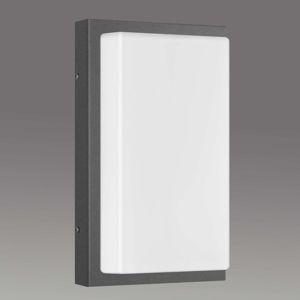 LCD Pravoúhlé venkovní nástěnné svítidlo Babett
