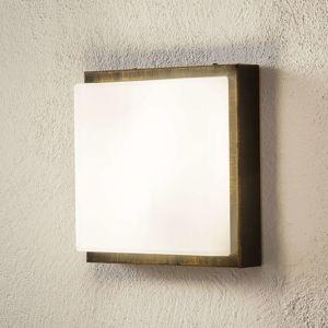 LCD Nástěnné světlo Ernest E27 bez senzoru černozlatá