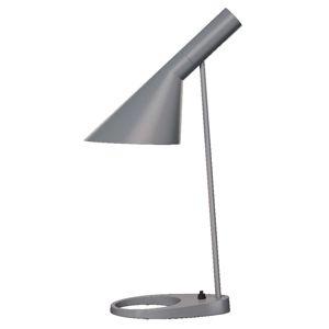 Louis Poulsen Louis Poulsen AJ - designová stolní lampa, šedá