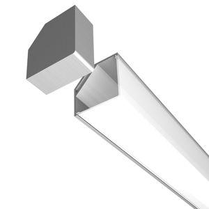 LED Profilelement GmbH Plastový kryt pro E45 hliníkový rohový profil