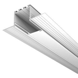 LED Profilelement GmbH Plastový kryt pro hliníkové profily S24 M24 a L24