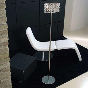 Marchetti BACCARAT křišťálová stojací lampa, průhledná