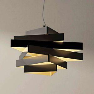 Marchetti Abstraktní závěsné světlo Miles s trojúhelníky