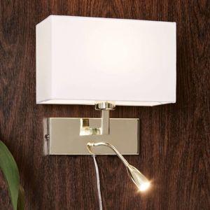 Markslöjd S LED lampou pro čtení - nástěnné svítidlo Savoy