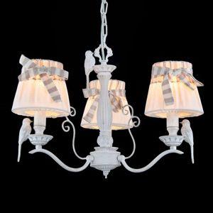 Maytoni 3zdrojové závěsné světlo Bird plátěná stínidla
