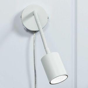 Nordlux Explore - ohebné LED nástěnné bodové svítidlo bílé
