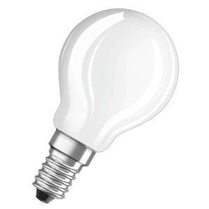 OSRAM LED žárovka - kapka E14 2,5W, bílá, stmívatelná