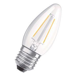 OSRAM OSRAM LED žárovka E27 5W bílá teplá stmívat. čirá