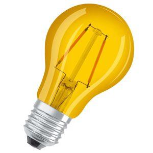 OSRAM OSRAM LED žárovka E27 Star Décor Cla A 1,6W, žlutá