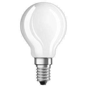 OSRAM OSRAM LED žárovka-kapka E14 4W denní světlo matná