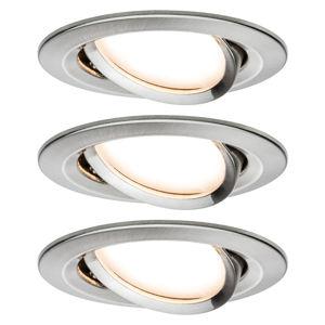 Paulmann Paulmann Nova LED spot 3ks naklápěcí, železo