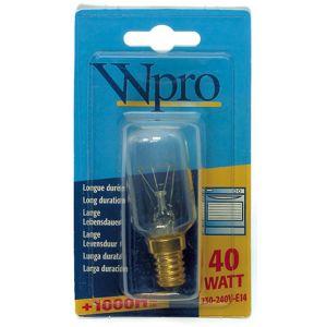 Whirlpool žárovka Wpro 40W E14 240V CL OV do trouby Čirá