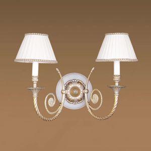 RIPERLamP Nástěnné světlo MINERVA látková stínidla 36 cm