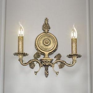 RIPERLamP Nástěnné světlo Albero, dva zdroje bronz