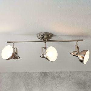 Reality Leuchten 3zdrojové stropní světlo Gina industriální vzhled