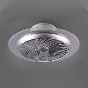 Reality Leuchten LED stropní ventilátor Visby, Tunable White