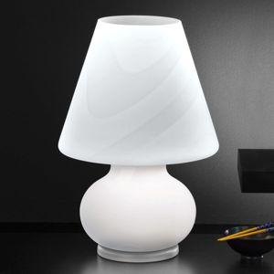 Selene Skleněná stolní lampa Alice, výška 50 cm