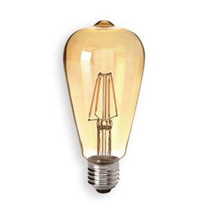 Sylvania E27 4W 824 LED rustikální žárovka zlatá, čirá