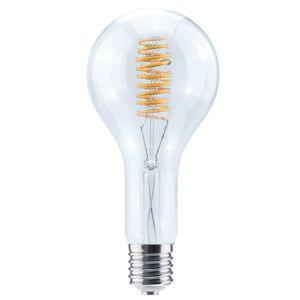 Segula LED Grand Bulb Curved Spirale E40 15W, teplá bílá