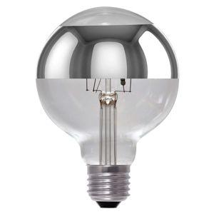 Segula LED žárovka Globe G95 zrcadlová E27 8W, stmívací