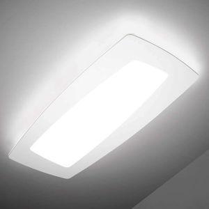 Sforzin Bílé LED stropní svítidlo Debra Rettangolo 65 cm