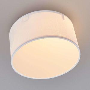 Smartwares Bílé textilní stropní svítidlo Ceiling Dream 20 cm