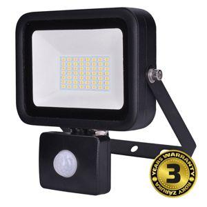 Solight LED reflektor PRO se senzorem, 50W, 4250lm, 5000K, IP44 WM-50WS-L Studená bílá