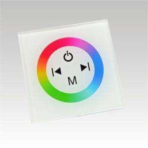 NBB LED RGB contoller dotykový panel TM08 DC12-24V 3x4A bílý 903001036