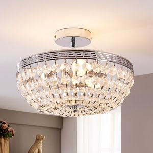 Lindby Jiskřivé křišťálové stropní světlo Mondrian