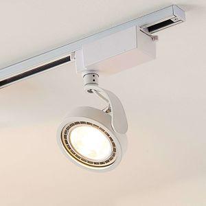 Arcchio 1fázový LED reflektor Rick v bílé barvě