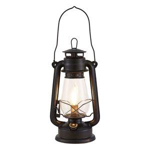 Lindby Lindby Raisa stolní lampa, lucerna, rezavá barva