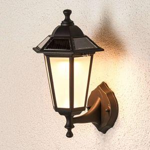 Lindby Solární LED venkovní nástěnné svítidlo Kristin