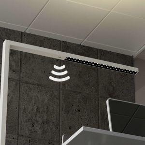 Arcchio Bílá LED stojací lampa Jolinda, snímač