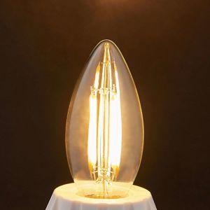 Lindby E14 LED žárovka svíčka Filament 4 W 470 lm 2 700 K