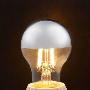 Lindby E27 LED žárovka s vrchlíkem, 4 W 2 700 K 400 lm