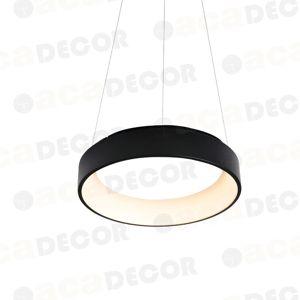 ACA Lighting Decoled LED závěsné svítidlo BR81LEDP60BK