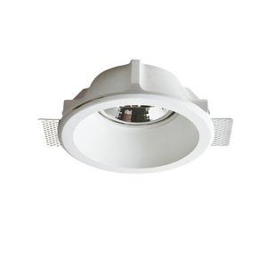 ACA Lighting Gypsum zapuštěné bodové sádrové svítidlo G90151C
