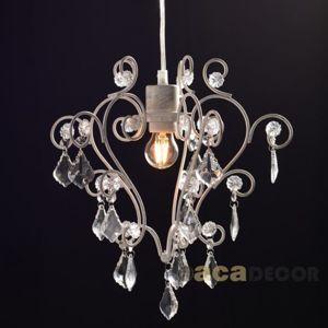 ACA Lighting Vintage závěsné svítidlo KS1352P1WG