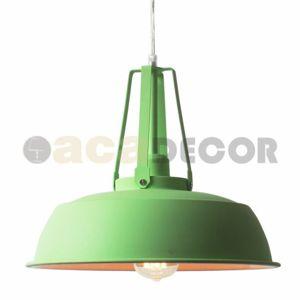 ACA Lighting Vintage závěsné svítidlo KS204534GN
