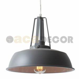 ACA Lighting Vintage závěsné svítidlo KS204534GY