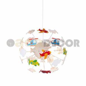 ACA Lighting Dětské závěsné svítidlo MD160224AIR