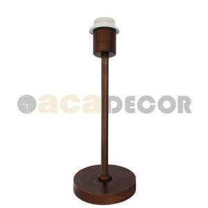 ACA Lighting Mix a amp;Match stolní svítidlo bez stínítka MT15198WPM