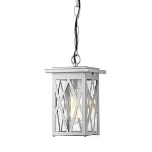 ACA Lighting Garden lantern venkovní závěsné svítidlo NISSA1PPS