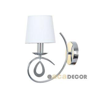 ACA Lighting Textile nástěnné svítidlo TNK81490CR1W