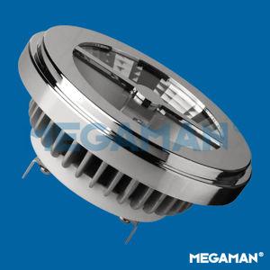 MEGAMAN LED reflector AR111 15W/75W G53 4000K 2000cd/45° Dim 25Y ER2215d-75H45D-840 Studená bílá